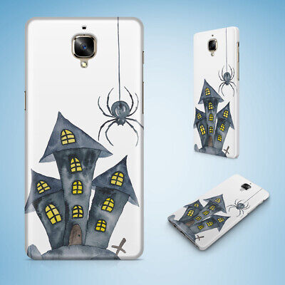 Oneplus Phone Case Cover Hard Back|Halloween Haunted House 1