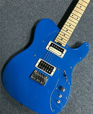 ESP ORDER Guitar TEC-680 Telecaster Blue W/Hard Case From Japan Used