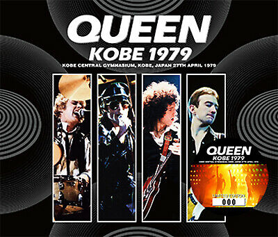Queen - Kobe 1979 Japanese 3 X Cd - Limited!