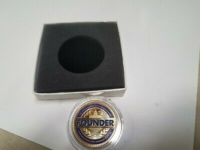 FOX NATION FOUNDERS COIN 1st edition  Exclusive to Charter Subscribers