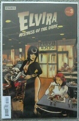 "Elvira ""Mistress Of The Dark #3 Hack Variant..dynamite 2018 1St Print..vfn+"