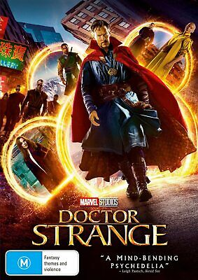 Doctor Strange (DVD, 2017), NEW SEALED AUSTRALIAN RELEASE REGION 4 MARVEL