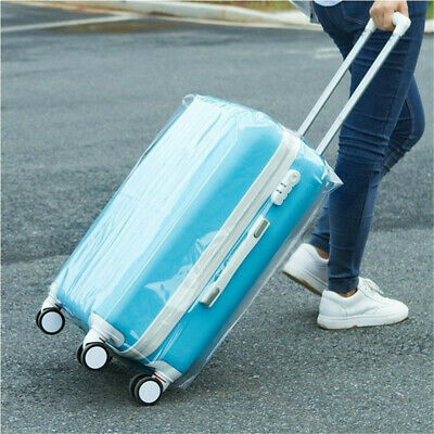 "20""-28"" Universal Transparent Dust Proof  Bag Suitcase Cover Dust Proof Bag"