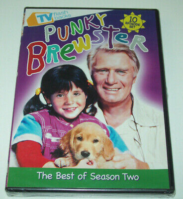 Punky Brewster The Best of Season Two (DVD 2011) NEW SEALED 80s kids family show