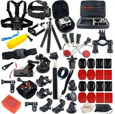 Hero Session Camera Accessories for GoPro Hero 7/6/5/4/3/2/1 Sports Camera Kit