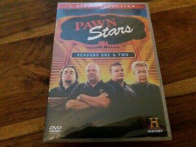 Pawn Stars Complete First Second Series Season Two 1 2  6 Disc UK DVD Boxset New
