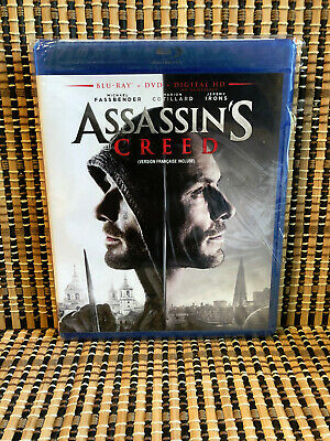 Assassins Creed: The Movie (2-Disc Blu-ray/DVD, 2017)Michael Fassbender