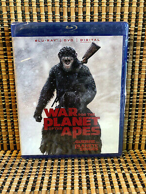 War for the Planet of the Apes (2-Disc Blu-ray/DVD, 2017)Part 3/Andy Serkis