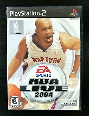 NBA Live 2004 (Sony PlayStation 2, PS2 2003)