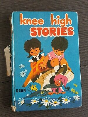 KNEE HIGH STORIES BOOK By DEAN RARE VINTAGE reading book