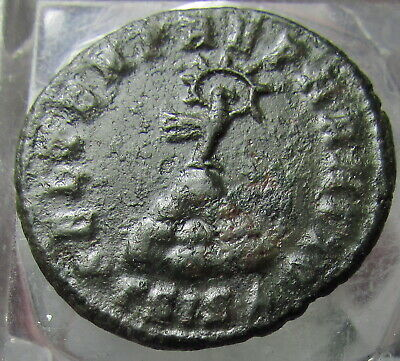 Byzantine (300-1400 Ad) Ancient Byzantine Constans 11 Follis 7th Century Ad Coins: Ancient