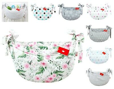 Nursery Baby Cot Tidy / Padded Organiser for Cot/ Cotbed/ Cot Bed