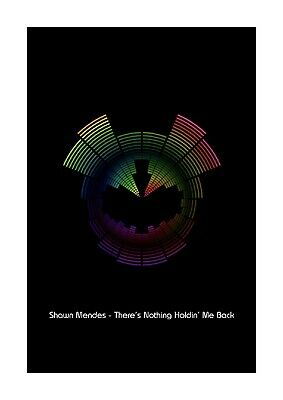 Shawn Mendes There/'s Nothing Holdin/' Me Back Music Love Song Lyric Print Poster