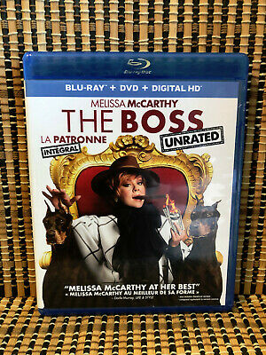 The Boss: Unrated Version (2-Disc Blu-ray/DVD)Melissa Mccarthy