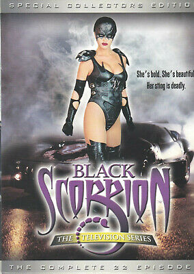 BLACK SCORPION - The Complete Television Series (DVD 2003 6-Disc Set) (S2)