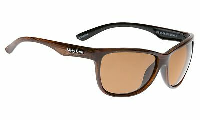 NEW Ugly Fish Polarised Sunglasses PT6544 Brown/Brown