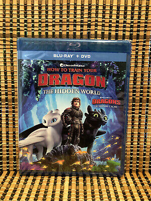 How to Train Your Dragon 3: The Hidden World (2-Disc Blu-ray/DVD, 2019)