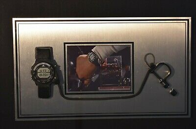 Back To The Future Doc Brown SCREEN USED Seiko A826 Marty McFly Watch Movie Prop
