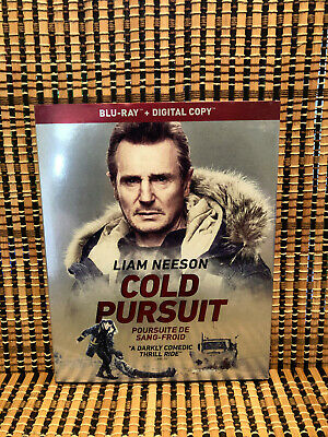 Cold Pursuit (Blu-ray, 2019)+Slipcover.Liam Neeson/Tom Jackson/Emmy Rossum/Laura