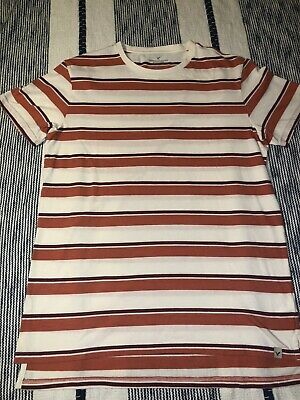 9788b3de AMERICAN EAGLE OUTFITTERS seriously soft stripe Crew T-Shirt V-Neck ...