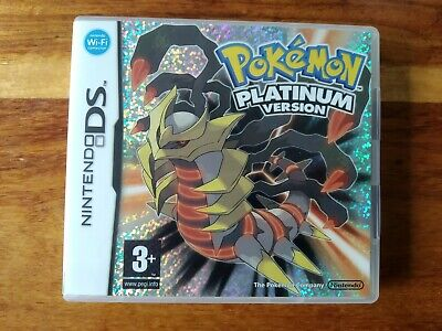 Pokemon: Platinum Version Nintendo DS Fully Boxed