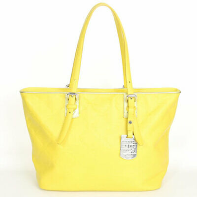 b9967ce84e9 Longchamp LM Cuir Small Tote Bag 1524746174 Shoulder bag Lemon Yellow  Leather