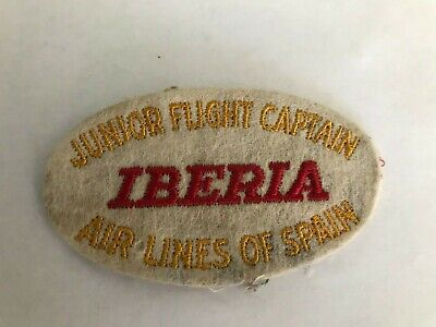 Transportation Mint Spain Iberia Airplane Pin Badge