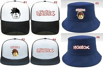 Roblox Kids Youth Adult Cap Mesh Adjustable Snapback Hat AU Shop