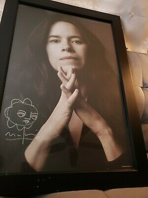 Natalie Merchant Signed 19×27 Photo Autographed AS IS