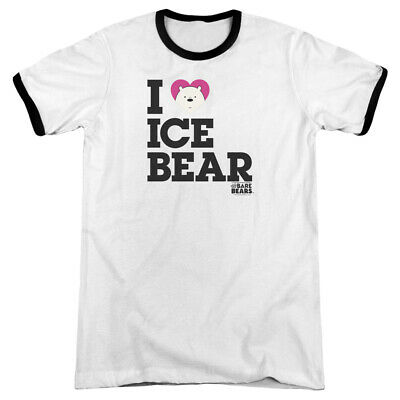 We Bare Bears Selfie Licensed Adult T Shirt
