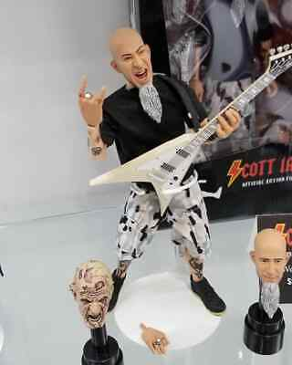 """Neca ANTHRAX - SCOTT IAN 8"""" Action Figure Official Licensed w/ Autograph on Box!"""