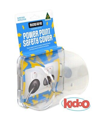 Power Point Safety Protector NEW Micky Ha Ha Child Baby Proof Electrical Safety