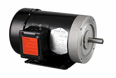 """2HP Electric General Purpose Motor, 56C, 5/8"""", 3 Phase, 230/460V, 3600RPM,TEFC"""