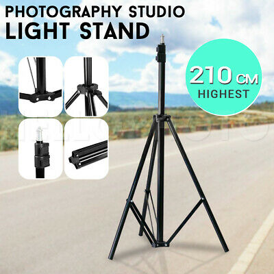 Photography Studio Heavy Duty Lighting Stand Adjustable&Portable Support Kit AU