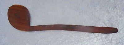Authentic Australian Aboriginal Carved Mulga Wood Axe with Fish and Jellyfish