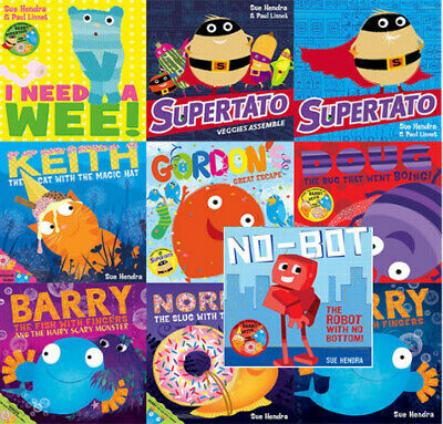 Sue Hendra Supertato and Other Stories Childrens Collection 10 Books Set NEW