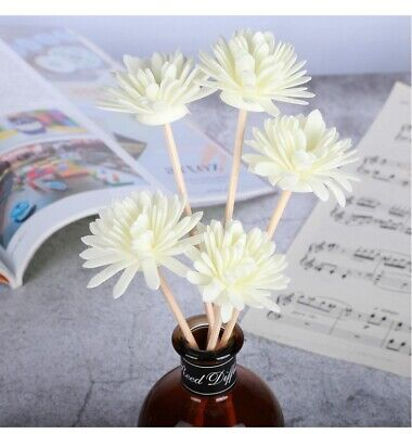 5 Pcs Flower Fragrance Diffuser Replacement Rattan Reed Aroma Sticks Home Decor