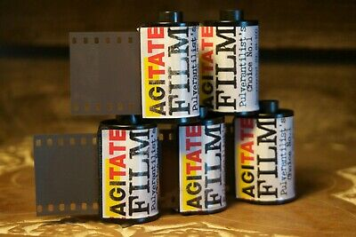 Pulverantalists Choice No 1 35mm black and white film 5 rolls