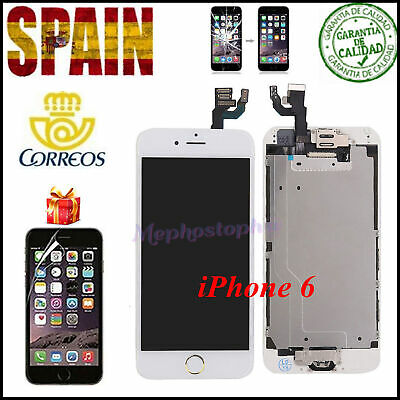 Pantalla Completo iPhone 6 LCD Display Tactil Digitalizador+ BOTÓN ORO Blanco