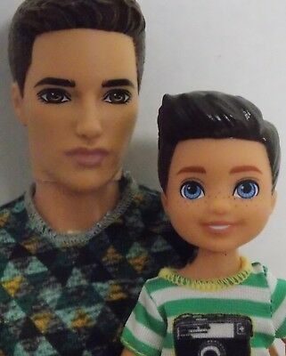 Barbie Ken & Tommy Set Ken Dad And Son - Fun For Christmas Gift - Ships Free!