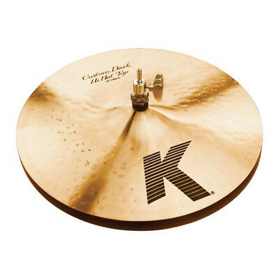 "Zildjian 14"" K Custom Dark Hi Hat Cymbals EX DISPLAY"