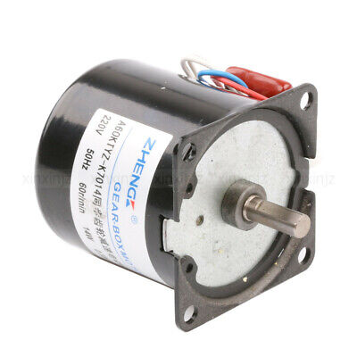 AC 220V 60RPM Synchronous Gear Electric Motor Speed Reducing Gear-Box