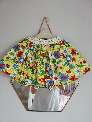 Little Bird By Jools Oliver Yellow Floral Skirt 12-18m