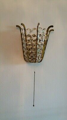 """Bakalowits """"CROWN"""" Wall sconce from 1950-60"""