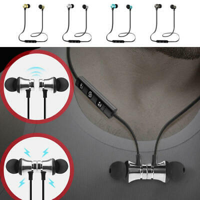 Magnet Wireless Bluetooth Sports Earphone Headset Headphone For iPhone Samsung/