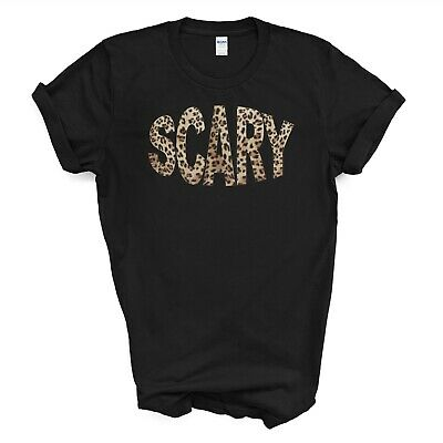 T-Shirt SCARY Spice Girls SPICE WORLD Inspired LEOPARD PRINT,KIDS LADIES MENS