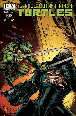 Teenage Mutant Ninja Turtles #20 1St Print Idw 2011 Cover B Eastman