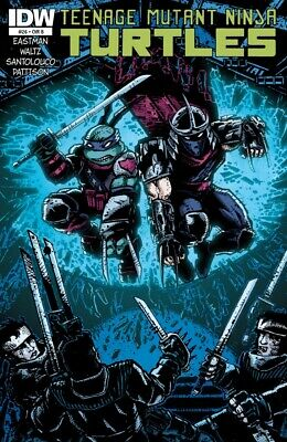 Teenage Mutant Ninja Turtles #26 1St Print Idw 2011 Cover B Eastman