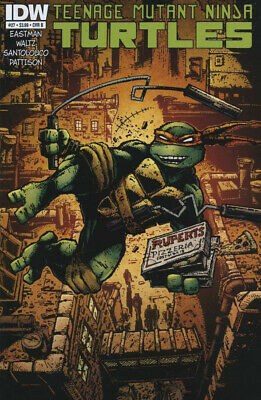 Teenage Mutant Ninja Turtles #27 1St Print Idw 2011 Cover B Eastman