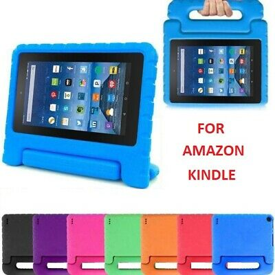 """Tough Kids Shockproof Foam case cover for AMAZON Kindle Alexa Fire 7"""" inch 2017"""